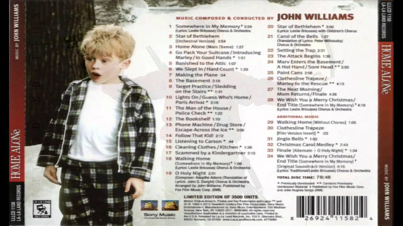 Home Alone - Complete Score - John Williams - YouTube
