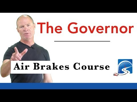 How to Test The Governor for Air Brakes Course   Air Brakes Smart