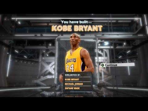 NBA2K20 KOBE BRYANT BUILD - 55 BADGE UPGRADES - DEMIGOD SHOOTING GUARD BUILD