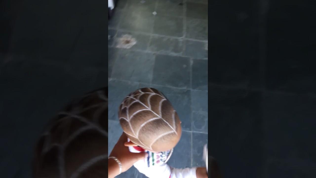 Teia De Aranha No Cabelo Youtube