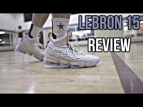 Nike LeBron 15 Performance Review!