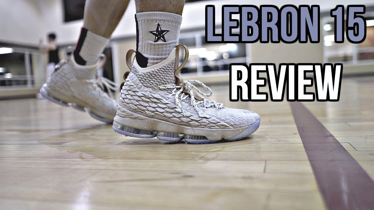 e7e4ee9b737 Nike LeBron 15 Performance Review! - YouTube