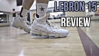 Nike LeBron 15 Performance Review!