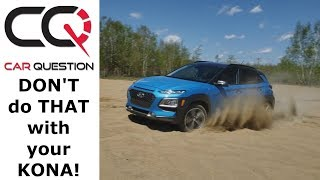 OFFROAD SAND TEST : 2018 Hyundai Kona 1.6L Turbo AWD | Quick Review Part 4/4