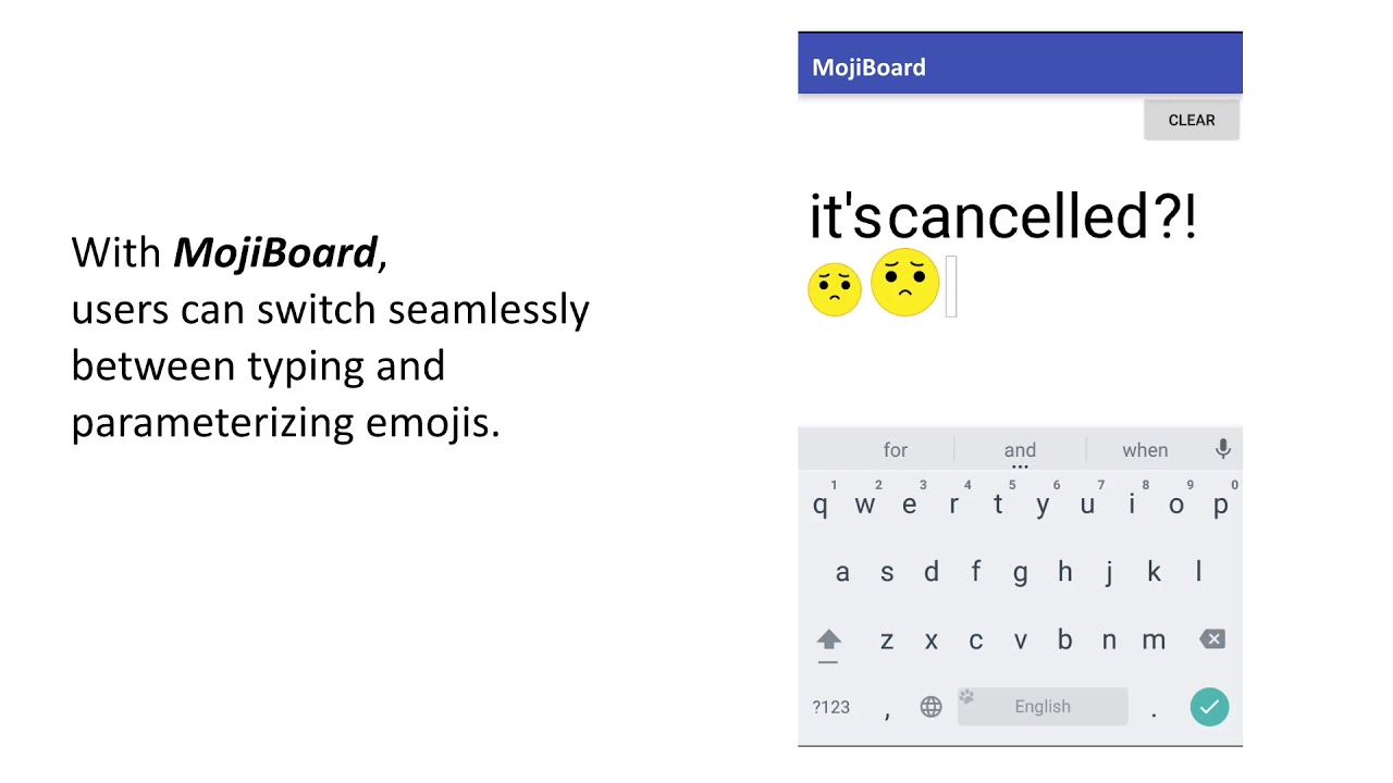 MojiBoard
