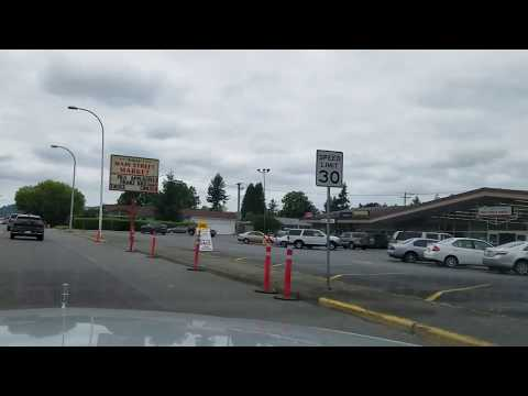 Downtown Auburn, Washington - E. Main Street Auburn dash cam.