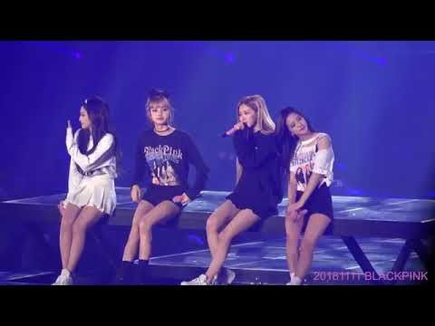 181111 Blackpink - STAY Concert Seoul Day 2.. [CRY JENNIE ]