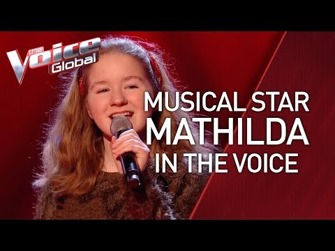 AL STAR Mathilda auditions in The Voice Kids  STORIES 34