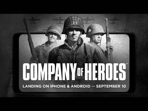 Company of Heroes – Coming to iPhone & Android on September 10th