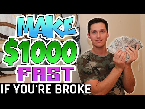 How To Make $1000 Dollars A Day!