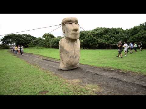 Easter Island moai 'walked'
