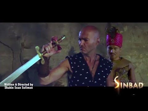 Shahin Sean Solimon Writer/Director/Actor - Sinbad The Fifth Voyage PG13