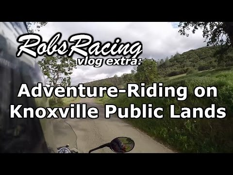 Vlog Extra: Adventure-Riding On Knoxville Public Lands
