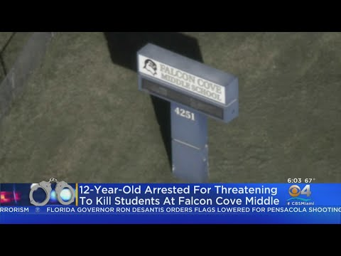 BSO Detectives Arrest 12 Year Old Girl For Making Threat To Falcon Cove Middle School
