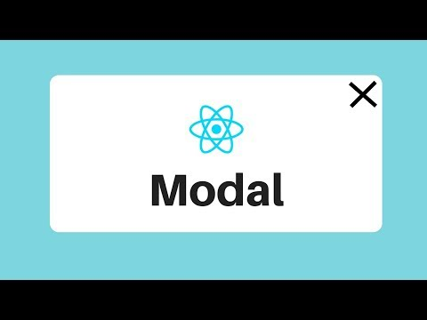 React js 教學 如何做彈窗 | How to create a React Modal Component