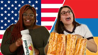 Americans and Armenians Swap Snacks