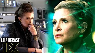 Disney May Recast Leia For Star Wars Episode 9 & More