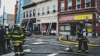FDNY - Queens 2nd Alarm Box 7191 - Fire in Long Island City