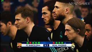 FC BARCELONA vs REAL MADRID | Penalty Shootout | PES 2017 Gameplay