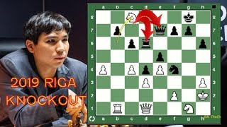 2019 Riga Grand Prix: Wesley So vs Harikrishna. Another Insane Wesley Queen Sac & How Does He Do It?
