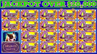 MUST SEE! SEE IT TO BELIEVE IT BIGGEST JACKPOT ON YOUTUBE ON HIGH LIMIT CORGI CASH