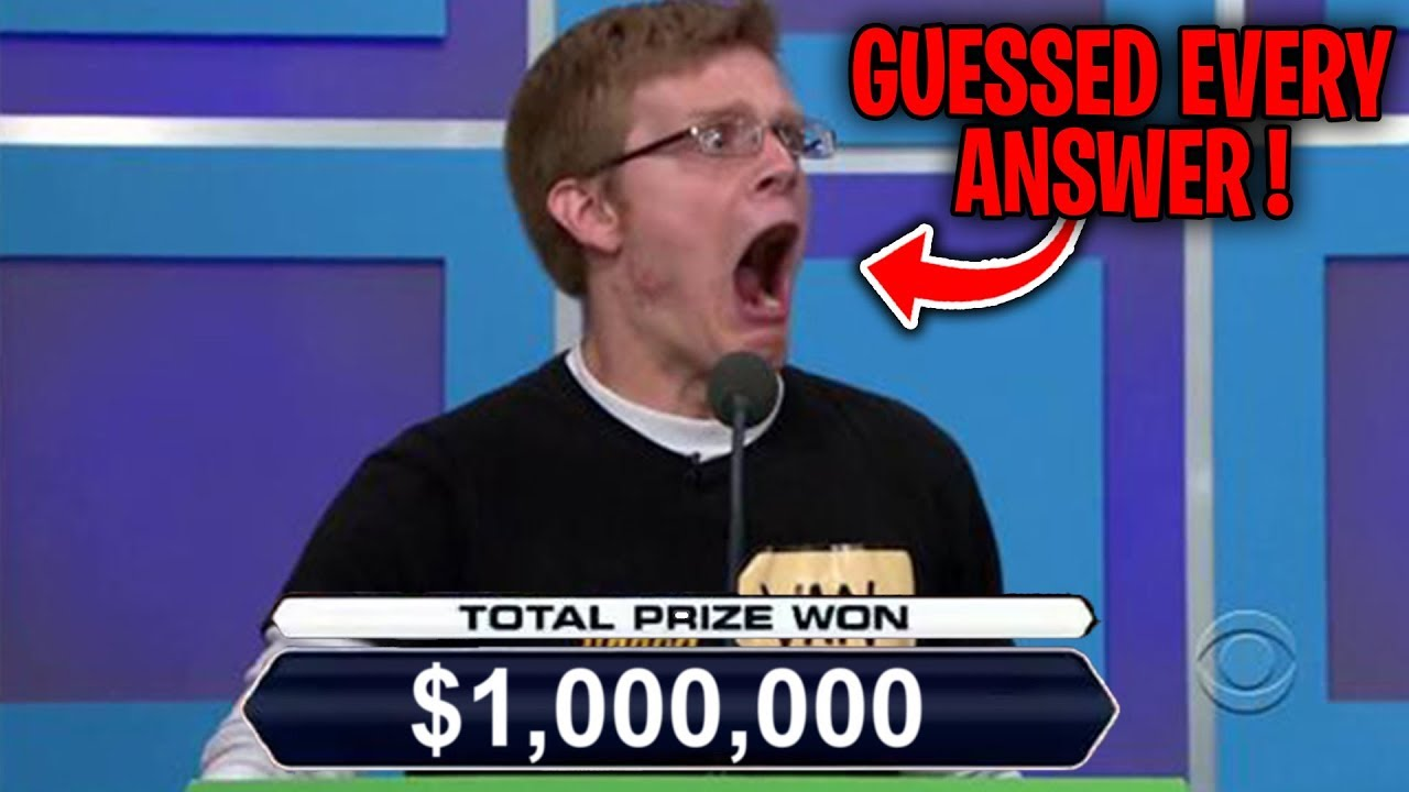 Top 5 Luckiest GAME SHOW WINNERS OF ALL TIME!
