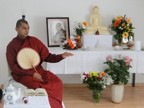 Sri Lankan Buddhism in Europe - A Presentation at University of Hamburg