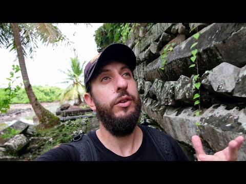 Exploring Nan Madol and Kepirohi Waterfall - Pohnpei, Federated States of Micronesia | Vlog Day 2