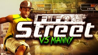 THROWBACK FIFA: FIFA STREET (PS2) vs Manny!