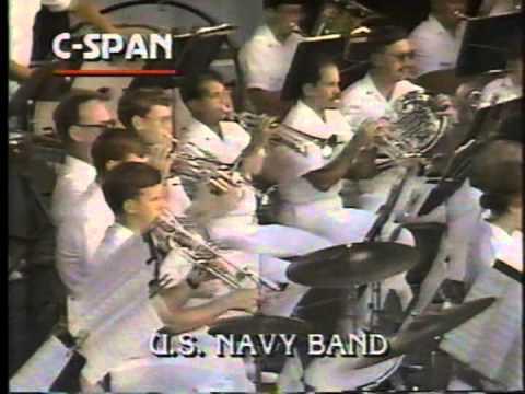 "US Navy Band - Washington DC - Sylvan Theater  ""The Washington Post March"""