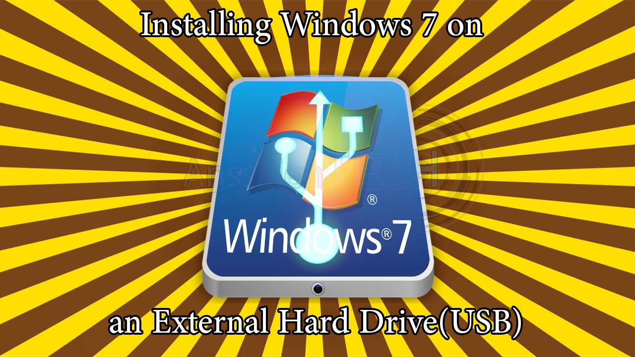 install win 7 on usb hdd