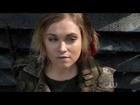 The 100 S04E13. Season 4 final scenes, 6 years and 7 days later.