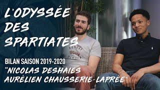LE BILAN DE LA SAISON 19-20 - Nicolas Deshaies et Aurélien Chausserie Laprée