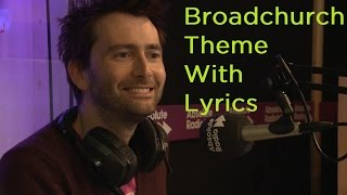 David Tennant adds lyrics to Broadchurch theme