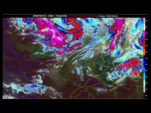 2015 at a glance : Infrared satellite images (Europe/North Atlantic)