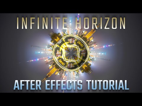 Infinite Horizon - After Effects Tutorial