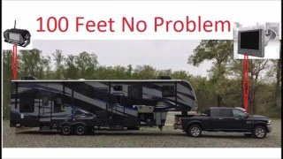 4ucam digital wireless backup camera signal range testing and review for rv and trailer
