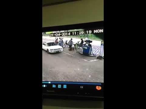 Auto-ongeluk Suriname april 2014