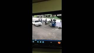 Auto Ongeluk Suriname April 2014