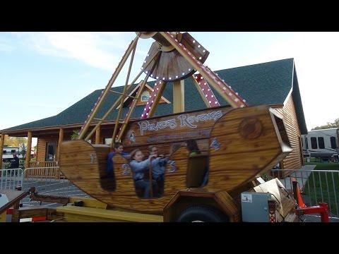 Pirate's Revenge - Swinging Carnival Boat Ride for Rent - Dallas, TX