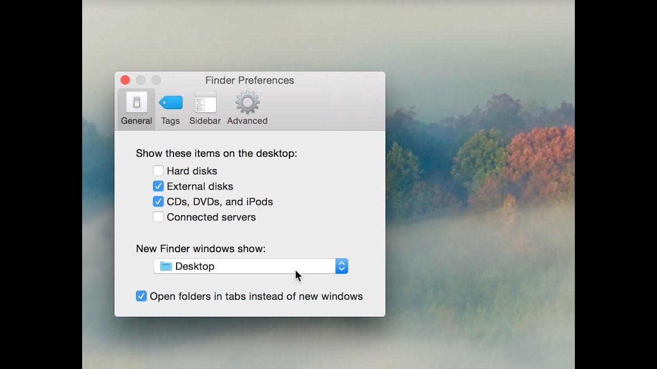 Mac Tip: How to set the default Finder folder