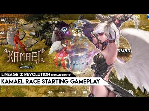 Lineage 2: Revolution – Quick look at the new Kamael race in