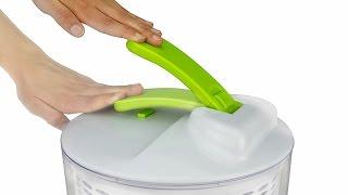 Brieftons Salad Spinner Demo - Salad Prep Made Easy