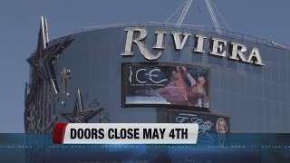 Riviera hotel-casino announces official closing date