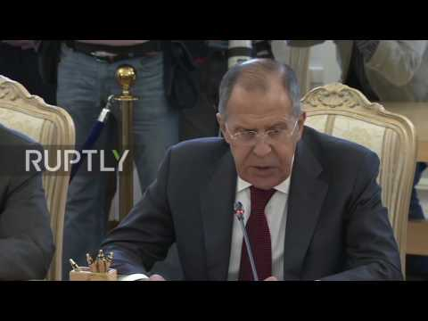 Russia: Lavrov calls for diplomacy in Gulf row on meeting Qatari FM in Moscow