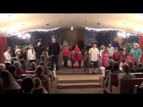 Liberty Baptist Church Youth Christmas Play 2013 - Naples, Texas ...