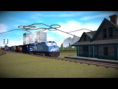 Train Frontier Classic - Co-op Route Building | Freelance Mo