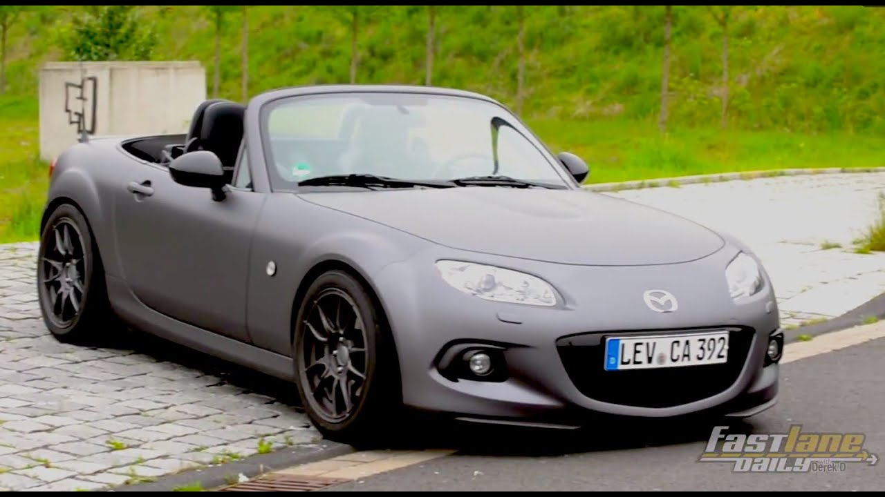 Mazda MX-5 Yusho Concept Review - Fast Lane Daily - YouTube
