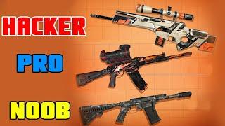 Sniper 3D Assassin Noob Vs Pro Vs Hacker