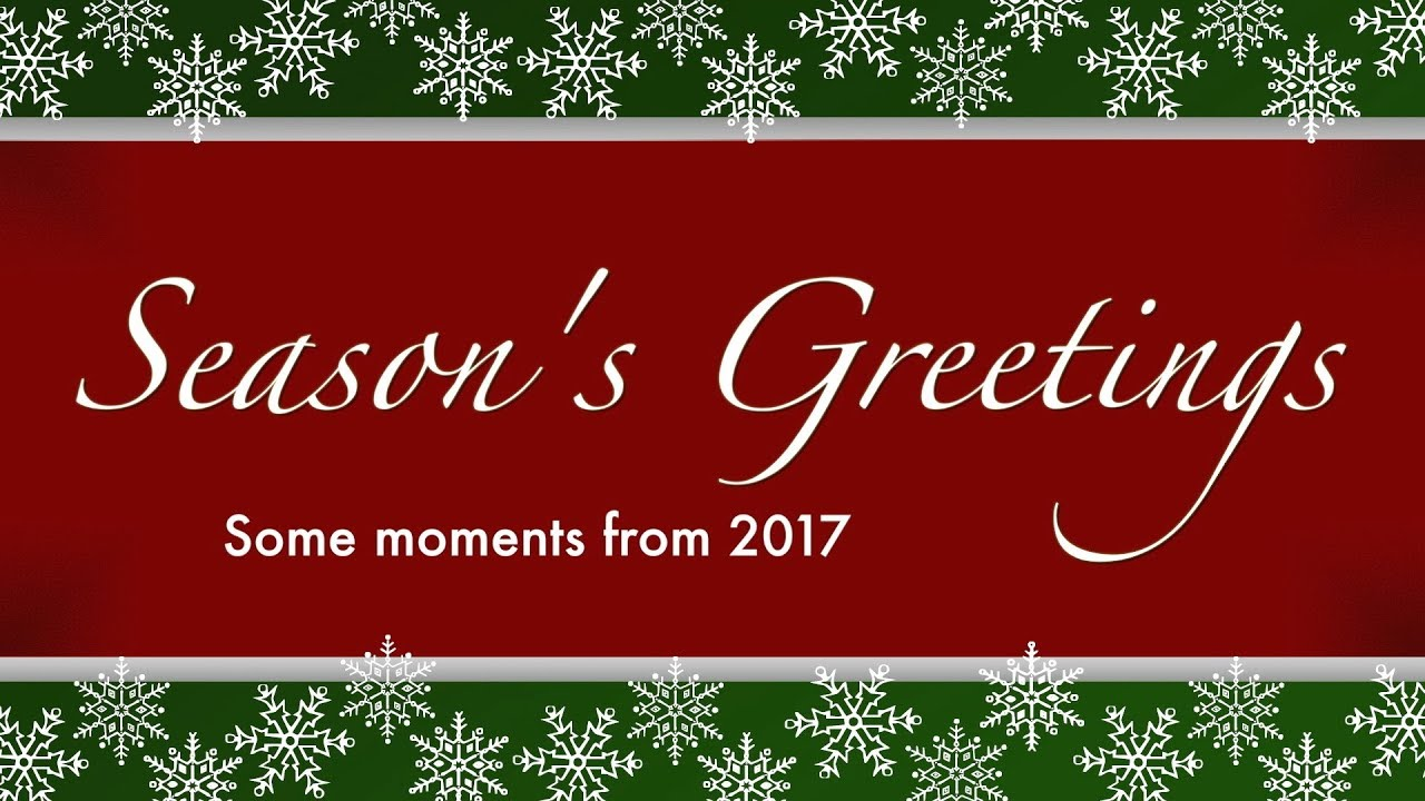 Musm Seasons Greetings 2017 Youtube